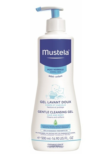 Mustela Mustela Gentle Cleansing Gel 500ml Renksiz